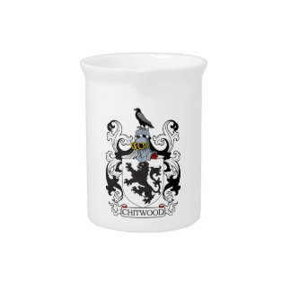 Chitwood Family Crest Beverage Pitchers