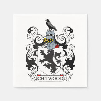 Chitwood Family Crest Disposable Napkin