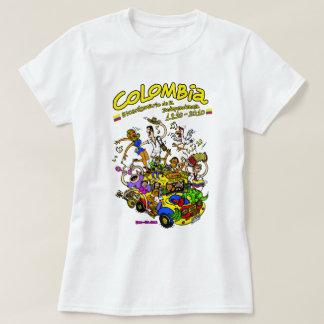 Chiva Colombia Bicentenario Tee Shirts