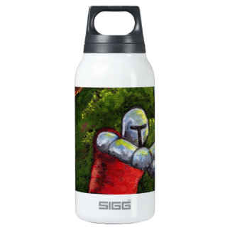 Chivalry Knight Medieval Armor Sword Renfair 10 Oz Insulated SIGG Thermos Water Bottle