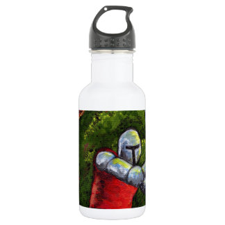 Chivalry Knight Medieval Armor Sword Renfair 18oz Water Bottle