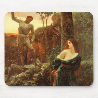 Chivalry [Sir Frank Dicksee] Mouse Pad