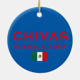 Chivas (Guadalajara) Custom Christmas Ornament