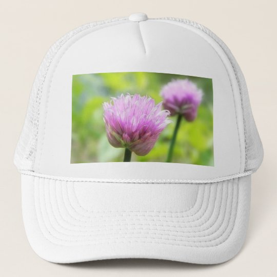 Chive Blossoms Trucker Hat