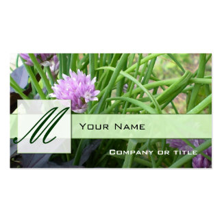 Chives Business cards