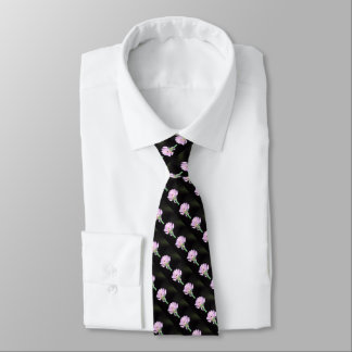 Chives Flower Neck Tie