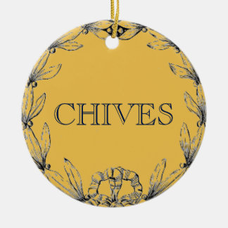 CHIVES HERB ORNAMENT