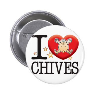 Chives Love Man Button
