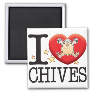Chives Love Man Magnet