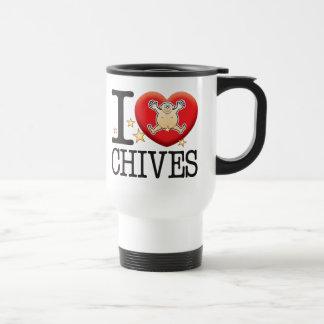 Chives Love Man Travel Mug