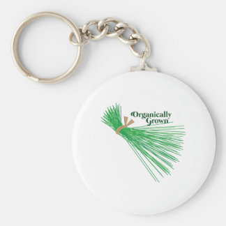 Chives_Organically Grown Key Chain