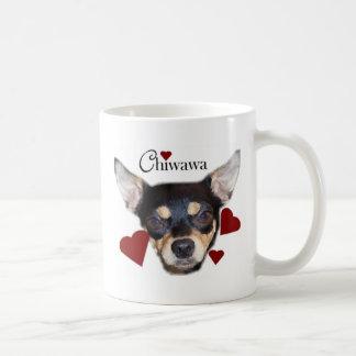 chiwawa classic white coffee mug