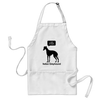 Chiwawas for Lunch Adult Apron