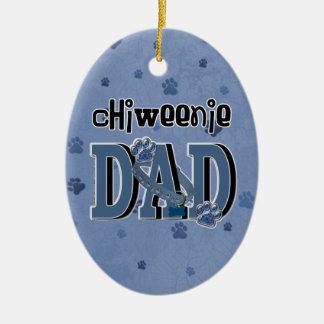 ChiWeenie DAD Ceramic Ornament