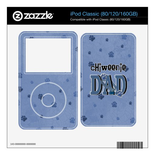 ChiWeenie DAD Skin For iPod
