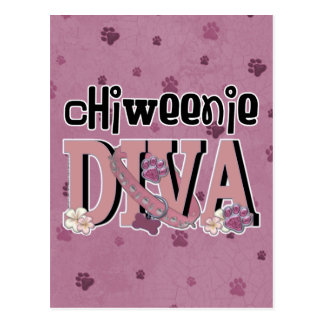ChiWeenie DIVA Postcard