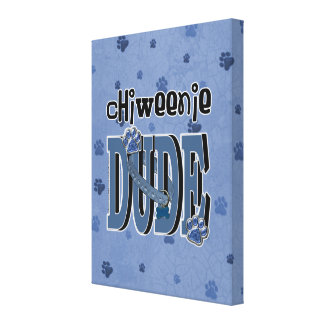ChiWeenie DUDE Gallery Wrapped Canvas