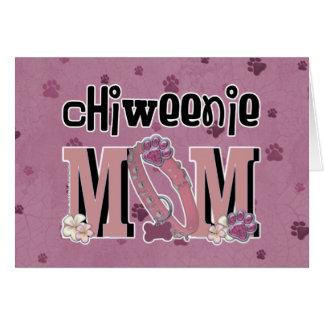 ChiWeenie MOM Greeting Card