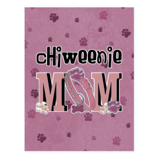 ChiWeenie MOM Postcard