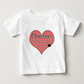 Chiweenie Paw Prints Dog Humor Baby T-Shirt