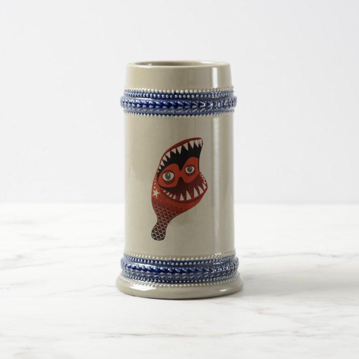 chix leg beer stein