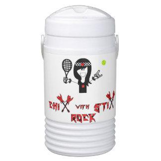 Chix Rock Water Jug Beverage Cooler