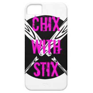 Chix with Stix iPhone SE/5/5s Case