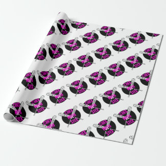 Chix with Stix Wrapping Paper
