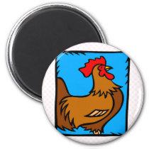 Chizzy Chicken Magnet