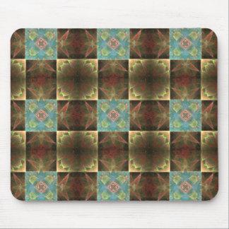 [CHK-ABS-1] Pretty fractal tile Mouse Pad