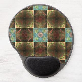 [CHK-ABS-1] Teja bonita del fractal Alfombrillas De Raton Con Gel