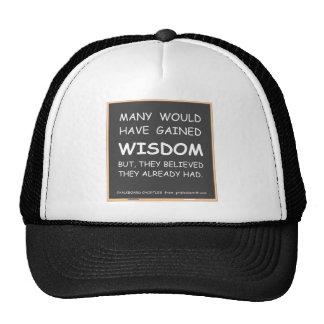 Chkbd-ManyWisdom Trucker Hat
