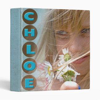 Chloe 3 Ring Binder