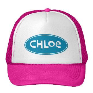 Chloe conocido personalizado gorras