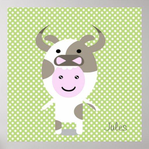 Chloe Cow Impresiones
