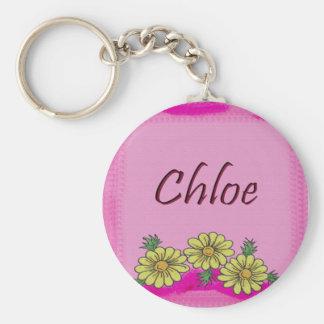 Chloe Daisy Keychain