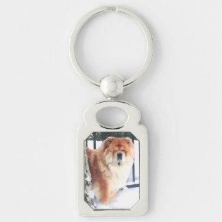 CHLOE heARTdog chow Keychains