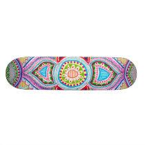Chloe Lambertin Mandala Skateboard. Skateboard