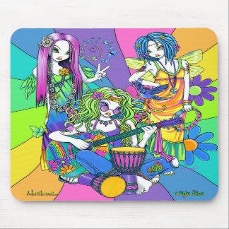 """Chloe,Melody,Harmony"" Flower Fairy Mousepad"
