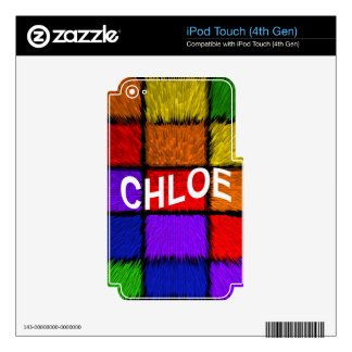 CHLOE SKIN FOR iPod TOUCH 4G