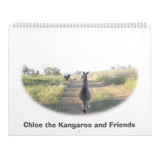 Chloe the Kangaroo Friends 2013 Calendar
