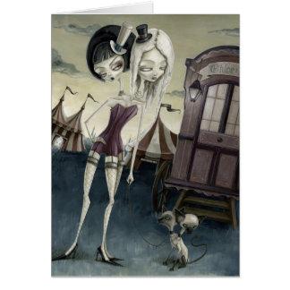 Chloe, Zoe & The Siamese Kittens Card
