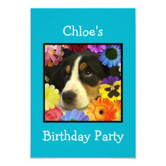 "Chloe's Birthday invitation 3.5"" X 5"" Invitation Card"