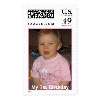Chloe's Birthday  Stamp
