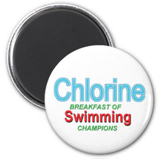 Chlorine Breakfast of Swimmers Magnets
