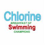 Chlorine Breakfast of Swimmers Photo Sculpture