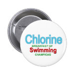 Chlorine Breakfast of Swimmers Pins