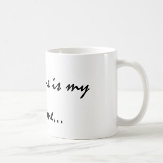 Chlorine is My Perfume Coffee Mug