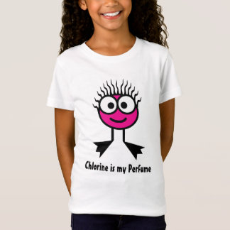 Chlorine is my Perfume - Pink Swim Character T-Shirt