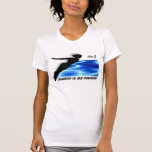 Chlorine is My Perfume Swimmer Diver Pool Water T-Shirt